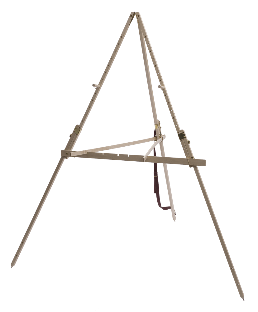 Take It Easel is the most stable plein air easel available.  The legs never slip, so you don't have to worry about dropping your art supplies.